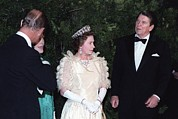 Queen Elizabeth II And Prince Philip Print by Everett