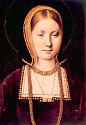 Aragon Prints - Queen Katherine Of Aragon 1485-1536 Print by Everett