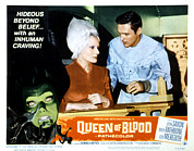 B-movie Art - Queen Of Blood, Lobbycard, Florence by Everett