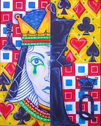Game Piece Originals - Queen of the game by Shellton Tremble