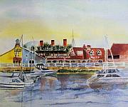 Queen Mary Paintings - Queen of the Shore by Debbie  Lewis