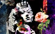 Allure Digital Art Prints - Queen Print by Ramneek Narang