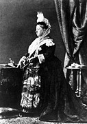 Queen Victoria Prints - Queen Victoria, Undated Print by Everett