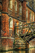 Popular Art Photos - Queens College And Mathematical Bridge by Yhun Suarez