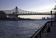 New York City Prints - Queensboro Bridge - Manhattan Print by Madeline Ellis