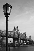 Manhattan Greeting Cards - Queensboro Bridge NYC by Henri Irizarri