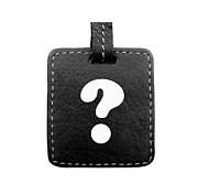 Question Mark Print by Blink Images
