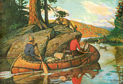 Portage Painting Prints - Quick Action Print by JQ Licensing