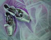Dancer Pastels Originals - Quick Change by Paul Autodore