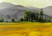 Nature Study Paintings - Quick Plein Air Study by Kevin Davidson