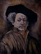 Stefon Marc Brown - Quick Study of Rembrandt