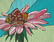 Insect Paintings - Quick Taste by Sandy Tracey