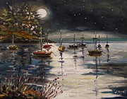 Portfolio Paintings - Quiet and Still Night by John  Williams