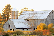 Pennsylvania Barn Print Prints - Quiet Country Print by Joe JAKE Pratt