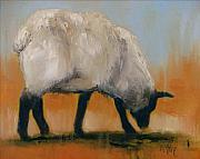 Sheep Originals - Quiet Day by Cathy McIntire