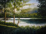 Tennessee Painting Originals - Quiet Evening by Shirley Braithwaite Hunt