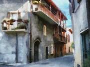 Quiet In Almenno San Salvatore Print by Jeff Kolker