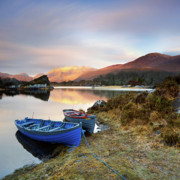 Lough Prints - Quiet moments Print by Pawel Klarecki