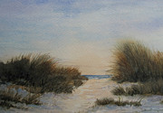 Cape Cod Paintings - Quiet Time by Vikki Bouffard