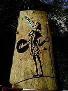 Featured Reliefs Originals - Quijote de la mancha alone by Calixto Gonzalez