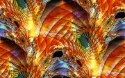 Quilts Digital Art - Quilted Archways by Ron Bissett