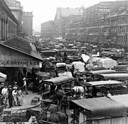 Quincy Market Photos - Quincy Market from Faneuil Hall - Boston - c 1906 by International  Images