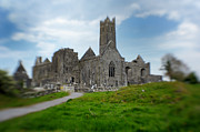 Quinn Abbey Print by Jim Murphy