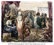 Senate Prints - Quintus Fabius Maximus Print by Granger