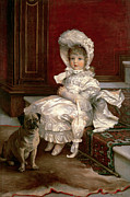 Doggy Dress Framed Prints - Quite Ready Framed Print by Philip Richard Morris