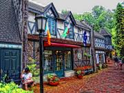 Gatlinburg Tennessee Prints - Quite Walk Print by Scott Childress
