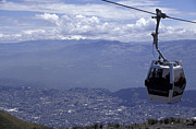 Ecuador Photos - QUITO AERIAL TRAM South America by John  Mitchell