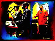 Gigs Art - R and B Band by Sadie Reneau