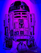 Chewbacca Prints - R2 D2 Print by George Pedro