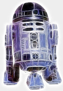 Sith Prints - R2-d2 Print by Paul Ward