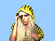 Lady Gaga Digital Art - Ra Ra  by Chandler  Douglas