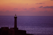 Rabat Morocco Lighthouse Print by Antonio Martinho