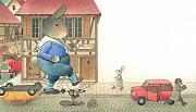 Rabbit Marcus The Great 19 Print by Kestutis Kasparavicius
