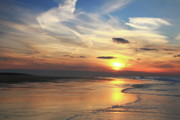 Race Point Beach Sunset  Print by Roupen  Baker