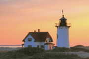 Keepers House Photos - Race Point Light by Roupen  Baker
