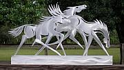 Running Sculptures - Race the Wind by Mindy Colton