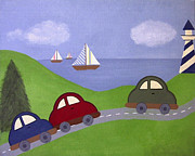 Children Art - Race to the Regatta by Samantha Shirley