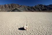 Racetrack Photos - Racetrack in Death valley by Pierre Leclerc