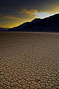 Racetrack Photos - Racetrack Playa by Patrick  Flynn