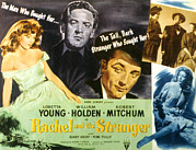 Loretta Posters - Rachel And The Stranger, Loretta Young Poster by Everett