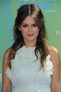 Teen Choice Awards Prints - Rachel Bilson At Arrivals For 2011 Teen Print by Everett