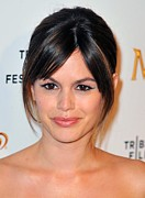 Updo Photo Posters - Rachel Bilson At Arrivals For Magnum Poster by Everett
