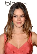 Black Tie Framed Prints - Rachel Bilson At Arrivals For The Art Framed Print by Everett
