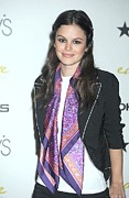 Dkny Prints - Rachel Bilson At In-store Appearance Print by Everett