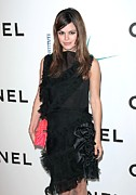 Straps Prints - Rachel Bilson Wearing Chanel Print by Everett