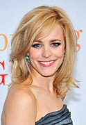 Teased Hair Prints - Rachel Mcadams At Arrivals For Morning Print by Everett